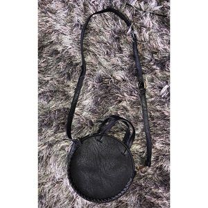 Free People Bags - FREE PEOPLE | Black Circle Crossbody Bag